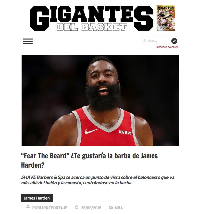 gigantes the shave club, barberia en madrid