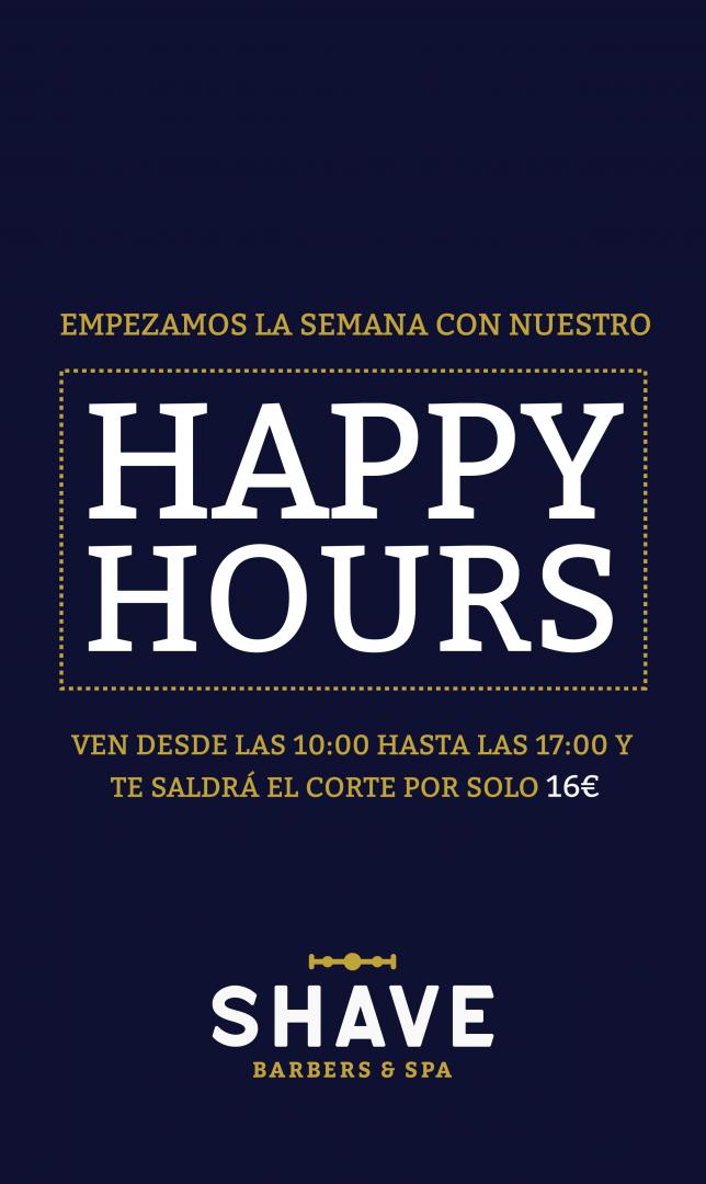 Happy hours: de lunes a jueves si vienes de 10 a 17 horas, el corte te saldrá por solo 16 euros.