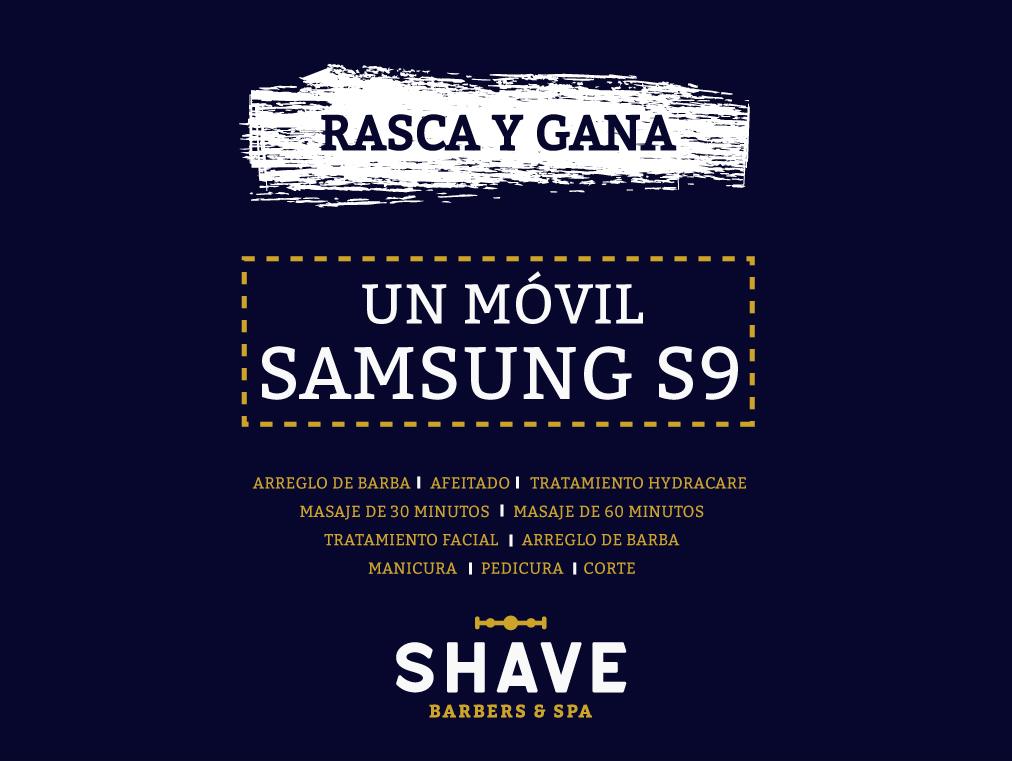 Promoción Rasca y Gana en The Shave Club