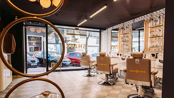 The Shave Club Madrid. Barbería y Spa espejos