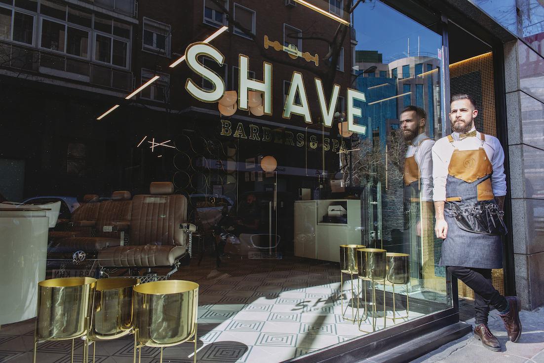 shave barbers and spa, madrid