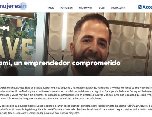 SHAVE en personasin: Sami, un emprendedor comprometido
