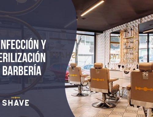 Desinfección y esterilización en barbería